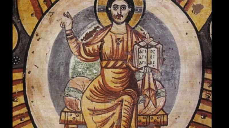 10 Closeup Of Egyptian Coptics Jesus