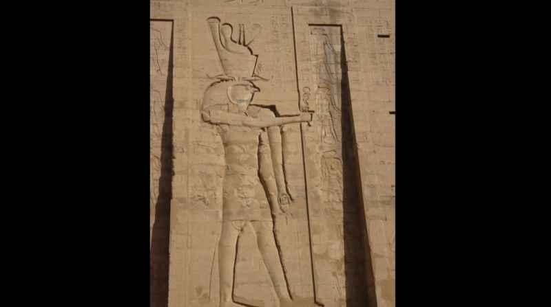 2 Closeup Of Horus
