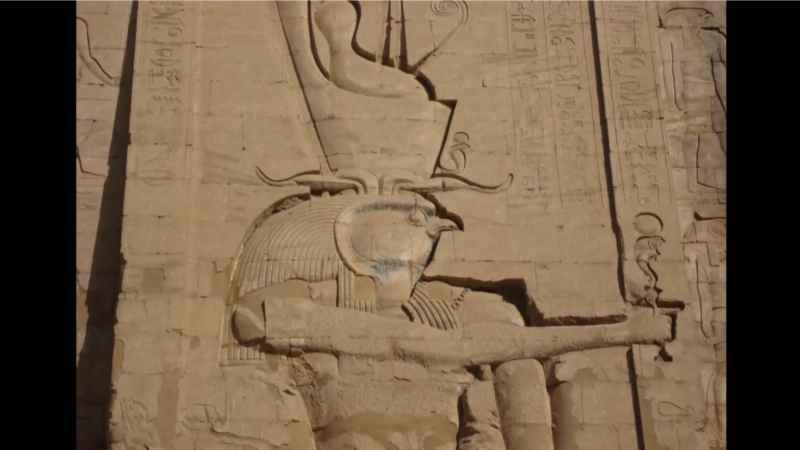 3 Closeup Horus Head