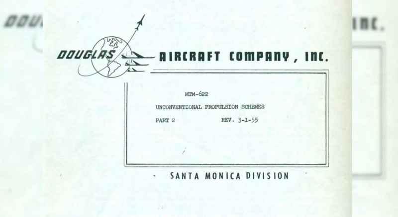 8a Douglas Unconventional Propulsion Schemes