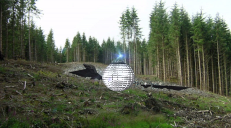 13 2nd Screen Shot Of Sphere At Crash Site
